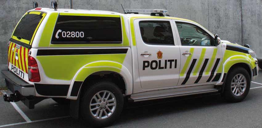 Bilde av politi refleksdekor